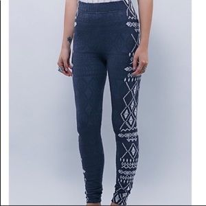 Free people come as you are sweater leggings